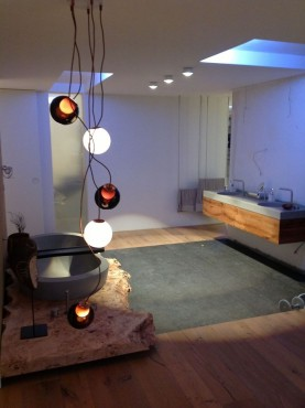NEUTRA: bathroom of a private villa in Germany