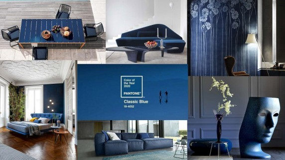 Pantone 2020: Classic Blue is the new base for style and design